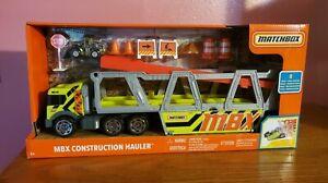 Matchbox MBX Construction Hauler, Multi, Model NIP! Toy Diecast Tractor