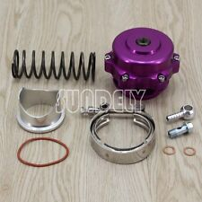 UNIVERSAL 50MM PURPLE MONSTER BLOW OFF VALVE BOV TIAL STYLE WITH FLANGE