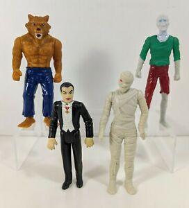Wolfman Dracula Zombie Mummy Burger King & Taco Bell Action Figures Halloween