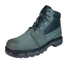 Stivali, anfibi e scarponcini da uomo verde 100% pelle