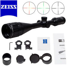 Zeiss Conquest 5-25x50 Illuminated Reticle Rifle Scope Sight HD FREE 20mm Mounts