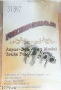 Precision Scale HO #31897 Crosshead Guides & Cylinder Heads, 2-Cylinder Engine,