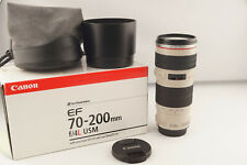 Canon EF 70-200mm F/4 L USM Canon Mount OVP # 5253
