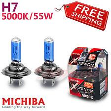 MICHIBA H7 55W 5000K Xenon WHITE Light Headlight Bulbs for VOLKSWAGEN High Beam