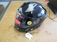 Zox Primo Com Black Motorcycle Helmet Size Small Z88-30142