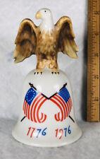 Vintage Bicentennial Porcelain Bell Eagle