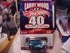 Hot Wheels RLC Redline Club Larry Wood 40 Years of Design Custom A-OK Only 7500