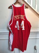 Mitchell And Ness Pistol Pete Maravich Atlanta Hawks Throwback Jersey Size 60