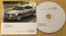 Genuine Audi A4 S4 151.565.8K0.88 Manual Manual de disco de CD incorporado