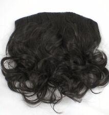 "14"" Brown Wavy Clip In Hair Extension Hairdo Fall Piece"