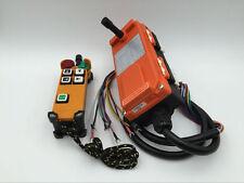 F21-4D 4 Channels 2 Speed Hoist Industrial Wireless Crane Radio Remote Control