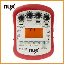 NUX PG-2 Electric Guitar Effect 24bit 18 Types of Preset For Music Instruments