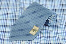 Tommy Bahama Men's Tie Blue Bamboo Striped Hawaiian Silk Necktie 58 x 4 in.