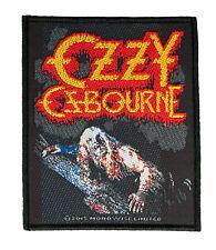 Ozzy Osbourne Patch  Bark At The Moon (SP2813)Ozzy AufnäherGewebt & Lizenziert !