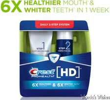 Crest Pro-Health HD Daily Two-Step Toothpaste System New Sealed Free Shipping