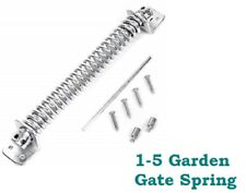 "GARDEN GATE SPRING Adjustable 8"" (200mm) Galvanised Door Closer FREE DELIVERY D1"