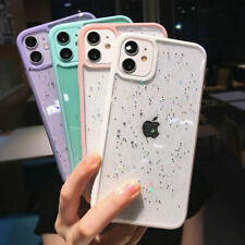 STAR GLITTER Case For iPhone 11 Pro Max 7 8  PLUS XR X XS Clear Bling Case Cover