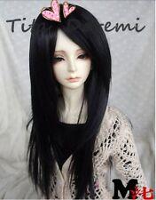 1 4 7-8 Dal BJD MSD parrucca  DOD LUTS Dollfie Doll black barbie 18-19CM