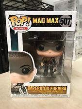 FUNKO POP IMPERATOR FURIOSA MAD MAX FURY ROAD NON CHASE #507 NEW IN BOX