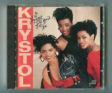 Krystol - CD -  I SUGGEST U DON'T LET GO © 1989 Epic EK 40916 USA-10-track RnB