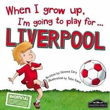 New, When I grow up, I'm going to play for Liverpool, Gemma Cary, Book