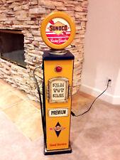 "42"" Sunoco Gas Pump Cabinet with light. Mancave/Gameroom."