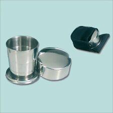 BICCHIERE TELESCOPICO in metallo - 1 bicchiere
