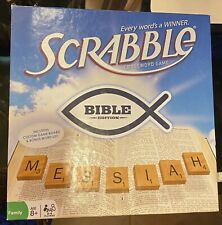 NEW Scrabble Board Game ~ Bible Edition ~ Every Word is a Winner Crossword Game