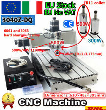 3 Axis 3040Z-DQ 500W Spindle CNC Desktop Engraving Milling Machine Wood Router