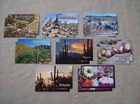 Classic Arizona tourist travel souvenir postcard assorted 8 styles 2 ea 16 pack