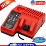 For Milwaukee 48-59-1812 M12-18C M12 & M18 Battery Rapid Charger 12V-18V Lithium