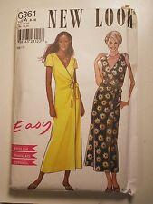 New Look # 6861 SZ: 8-10-12-14-16-18 Dress Uncut