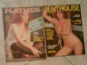 2 RIVISTE , PLAYMEN & PENTHOUSE , LAURA ANTONELLI, 1983