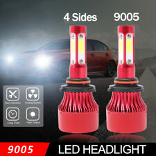 9005 HB3 LED Headlights Bulb Kit 48000LM 6000K Cool White Super Bright Car Light