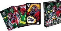 Marvel Villains Jeu De 52 Cartes A Jouer (nm)