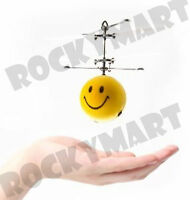 "Remote Control SMILE BALL Flyer Infrared Flying Saucer Sensor 5.34"" Tall RM2778"