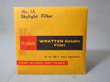 KODAK WRATTEN GELATIN GEL FILTER ( No.1A )   for Bolex filter slot frame VINTAGE