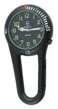 Philip Mercier Clip on Fob Carabiner Sprung Nurses Doctors Sport Fob Watch 15a