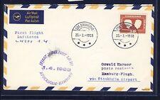 51039) LH FF Stockholm - Hamburg 1.4.68, Brief ab Grönland