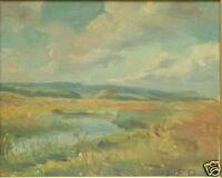 EINAR OLSEN 1876-1950 DENMARK LANDSCAPE POST WAR CLASSIC  NORDIC MODERN