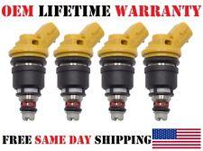 NEW!! 4pcs OEM Fuel Injectors For 04-12 Subaru Sti WRX GC8 550C 2.5L 16600-AA170