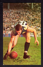 1966 Mobil Football Photo (16) - Bill Goggin (Geelong) (NEAR MINT)