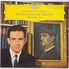 LIEDER BY CLAUDE DEBUSSY: Souzay DGG BaldwinLPM 18758 NM Vinyl LP Tulip