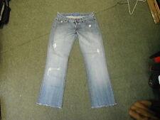 "FCUK Bootcut Jeans Waist 32"" Leg 30"" Faded Medium Blue Ladies Jeans"