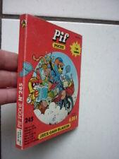 PIF  POCHE  /  NUMEROS  245  /  JANVIER  1986
