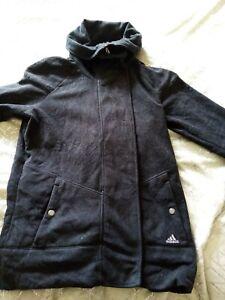 Ladies Adidas Climawarm Black Jacket Size 14