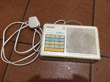 Vintage Philips Radio Alarm Clock