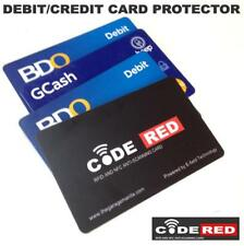 Code RED RFID and NFC anti-scanning card family pack 5, Credit Card Protect