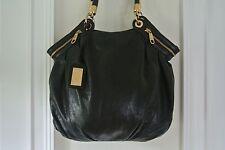 Badgley Mischka Shoulder Bag Black Hobo Boho Slouchy Handbag EUC