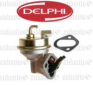DELPHI Mechanical Fuel Pump (2-Line) for Buick Chevy GMC Oldsmobile Pontiac